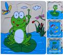 Пазл - Лягушка4 слоя