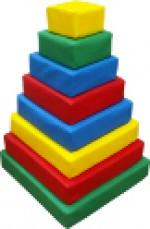 Пирамида квадратная (8 деталей)