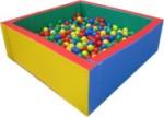 Сухой бассейн квадратный с шарик. (1000 шт.)